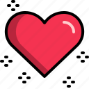 dating, energy, heart, love, romantic, valentine icon