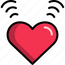 dating, heart, love, romantic, sweet, valentine icon