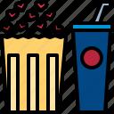 dating, drink, movie, night, popcorn, theater, valentine