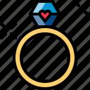 diamond, love, married, ring, romantic, valentine, wedding