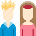 avatar, bride, couple, dating, groom, valentine, wedding icon