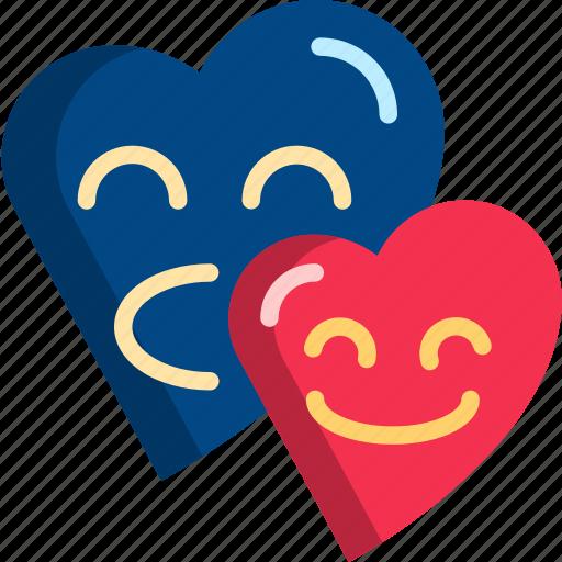 couple, date, dating, heart, love, romantic, valentine icon