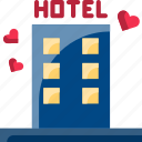 dating, hotel, love, night, sex, valentine icon