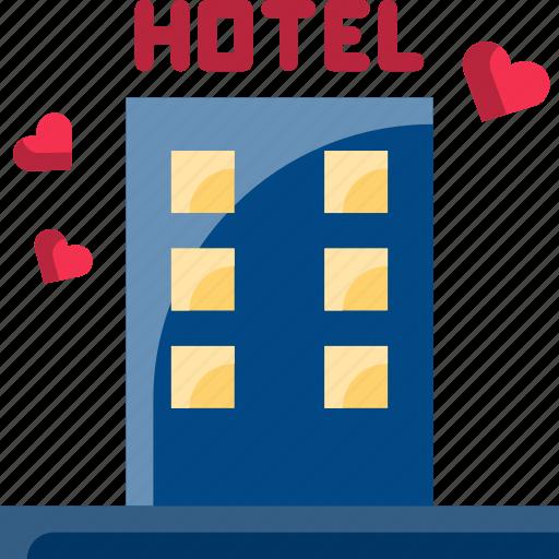 dating, hotel, love, night, sex, valentine icon