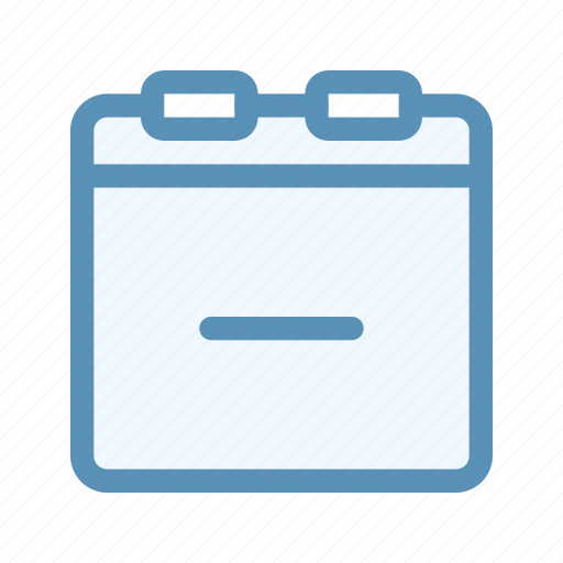 calender, date, interface, remove, user icon