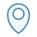 interface, location, pin, user icon