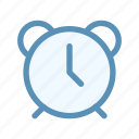 alarm, interface, time, user icon