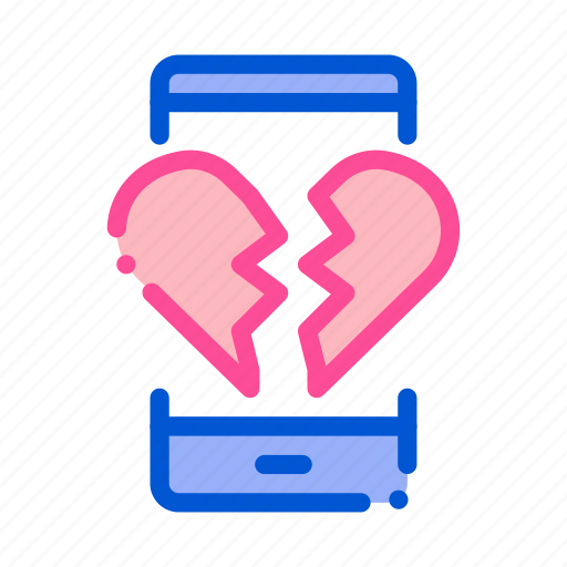 dating icon apps shapped like a heart