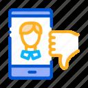app, avatar, dating, dislike, male