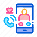 app, call, dating, phone, romantic