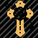 christain, church, cross, dead, jesus icon