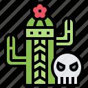 cactus, death, desert, mexican, plant