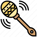 instrument, maraca, mexican, music, percussion icon