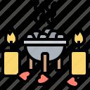 aromatic, ceremony, copal, incense, ritual icon