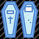 box, burial, casket, coffin, wood