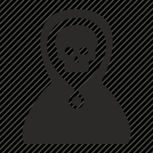 dead, death, head, skull icon