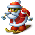 Рождество, Санта значок
