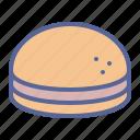 burger, hamburger, junk, sandwich icon