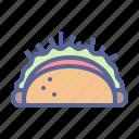 burrito, mexican, tortilla, wrap icon