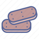 biscuit, chocolate, cookies, dessert icon