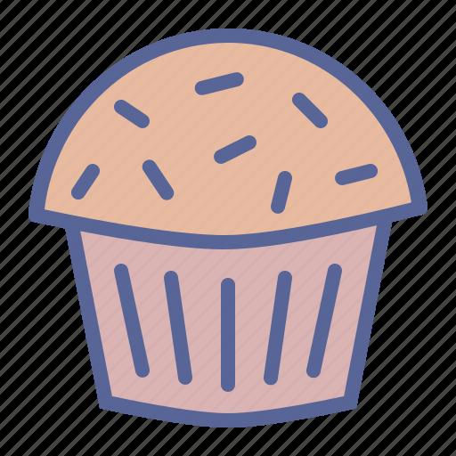 cake, dessert, muffin, sugar icon