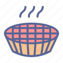 bake, dessert, pie, thanksgiving icon
