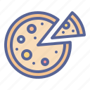 cheese, food, italian, pizza icon