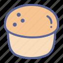 bake, cup, dessert, scone icon