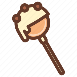 cakepop, dessert, fun, party, snack, sprinkles icon