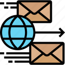 envelope, letter, express, airmail, competition