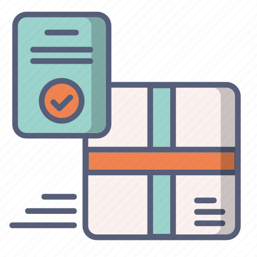approved, delivery, oreder, payment icon