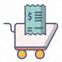 cart, check, payment, shop, shopping icon