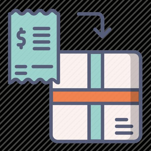 box, check, exchange, order, shop, shopping icon