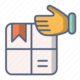 box, delivery, mail, order, post, received icon
