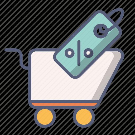 cart, discount, sale, shop, shopping icon