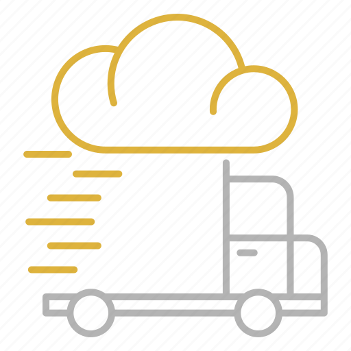 delivery, fast, shipping, speed, transportation icon