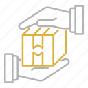 box, package, protection, shipping, transportation icon