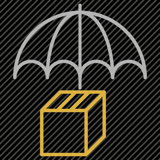 air, ship, shipping, transportation, umbrella icon