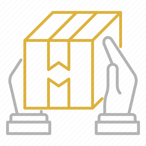 box, courier, shipping, transportation icon