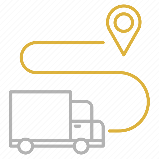 delivery, gps, location, pin, shipping, transportation icon