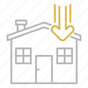 house, order, processing, shipping, transportation icon