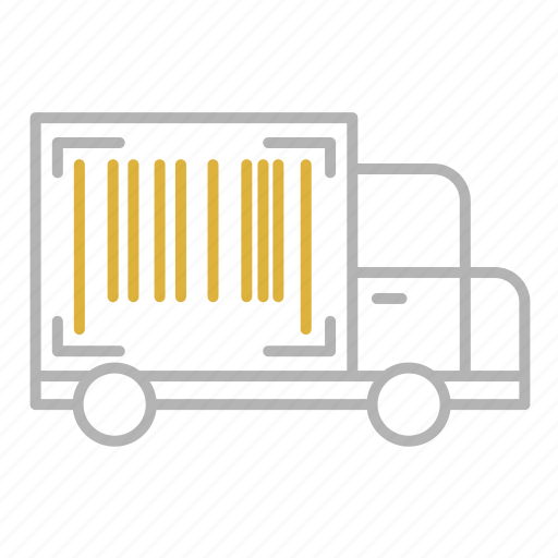 number, shipping, tracking, transportation, truck icon