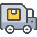 box, logistics, product, service, shipping, shopping, transport icon