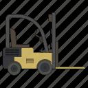 forklift, loader, truck, carrier