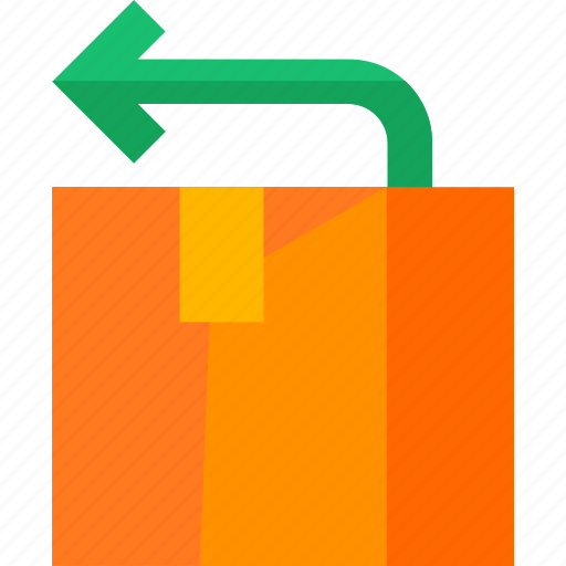 box, deliver, delivery, logistic, package, return icon