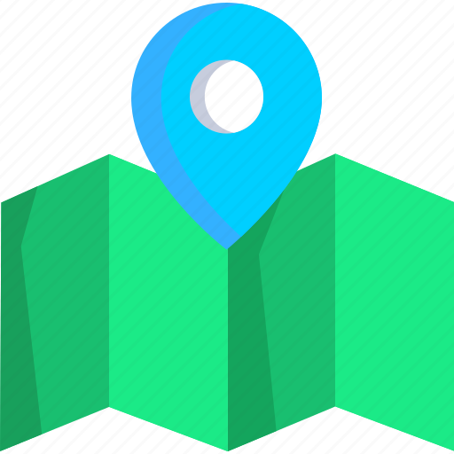 box, delivery, logistic, map, package, placeholder icon