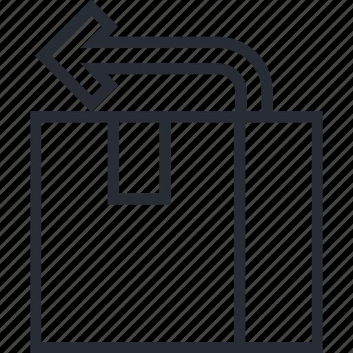 Delivery, box, deliver, logestic, package, return icon - Download on Iconfinder