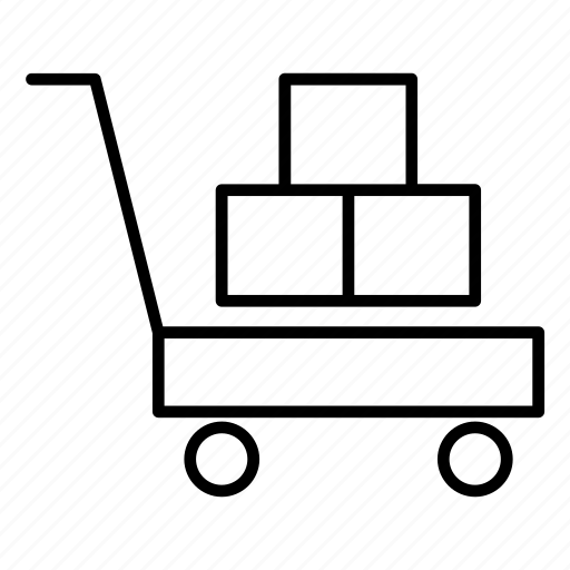 basket, business, buy, cart, delivery, shopping icon