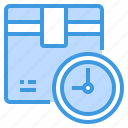 clock, delivery, logistics, service, shipping, time, transport icon