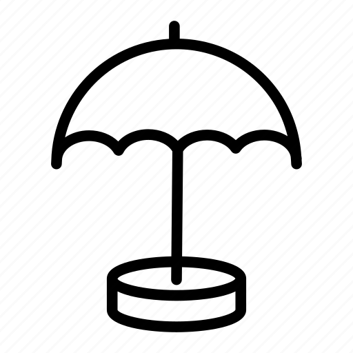 dry, lock, protect, protection, secure, shield, umbrella icon